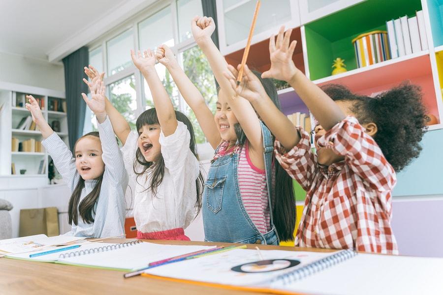 kids class participation